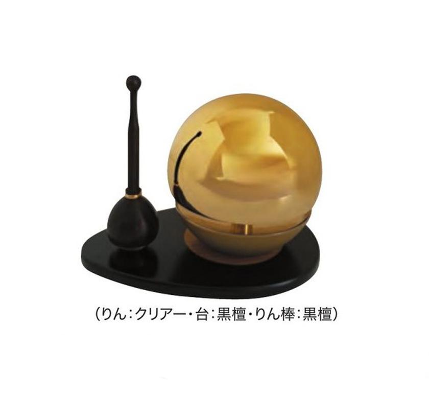 木製りん台(黒檀・紫檀・アッシュ)【鳴り物】